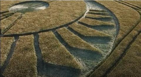 Пиктограмма с изображением ангела обнаружена на юге Англии