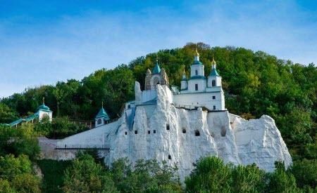 100 Великих чудес України - Святогорський Успенський монастир