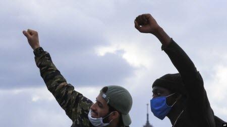 Протести проти расизму прокотились всім світом