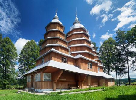 100 Великих чудес України - Бойківські церкви
