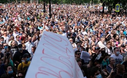 Хабаровск: «Мы не боимся!»