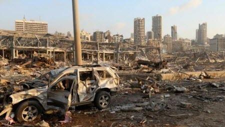 Несколько сотен человек пострадали при мощном взрыве в Бейруте