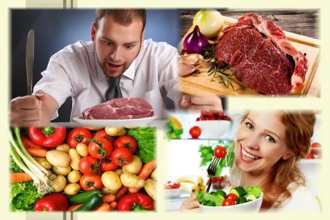 Кто быстрее стареет: вегетарианцы или мясоеды