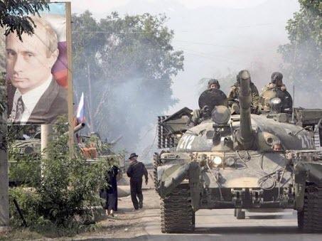"""Обвинения в правительственном документе: Путин использует кризис для """"ползучей аннексии"""" Грузии"""