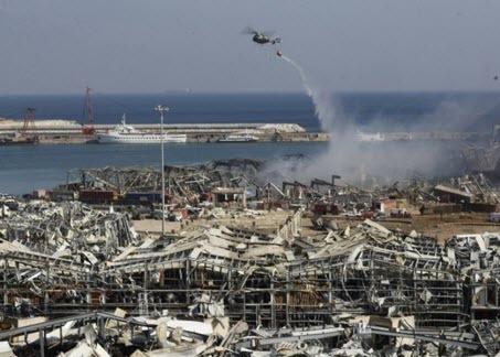 Reuters: власти Ливана получили предупреждение за две недели до взрыва