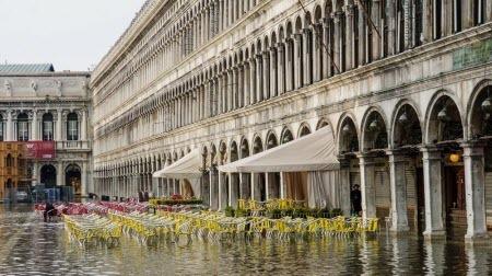 Ученые предложили не спасать Венецию