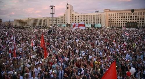 В Минске пройдет Марш за новую Беларусь