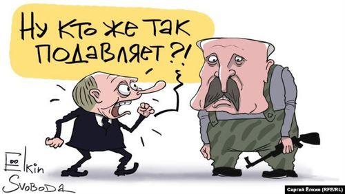 «Путін грає з Лукашенком, як з Кучмою та Януковичем» – Віталій Портников