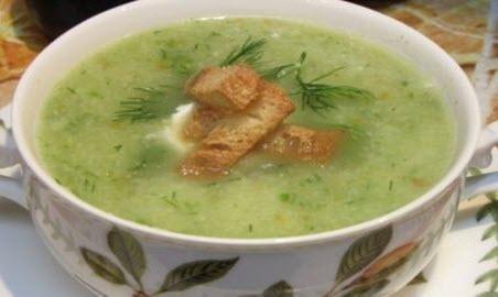 """Бабусині страви: """"Дієтичний овочевий суп"""""""
