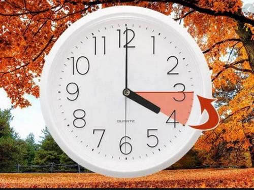 25 октября в четыре часа ночи стрелки часов в Украине переведут на час назад