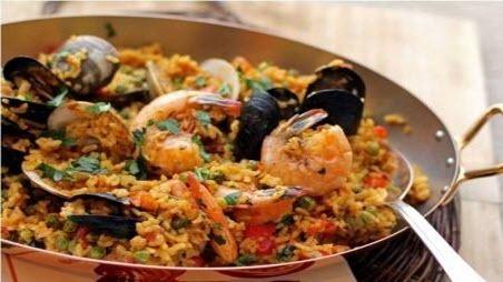 "Бабусині страви: ""Паелья з морепродуктами"""