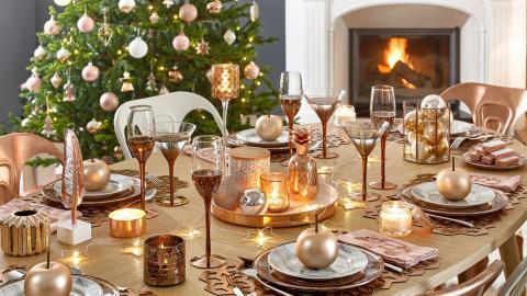 Новогодний стол двадцать первого года