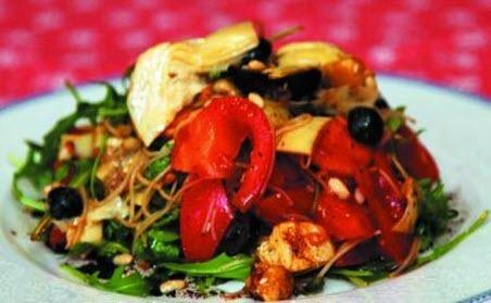 """Бабусині страви: """"Салат з маринованими артишоками"""""""