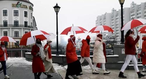 Первое протестное воскресенье года в Беларуси