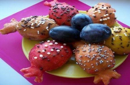 """Бабусині страви: """"Солодка випічка пиріжки зі сливами «Цукерки»"""""""