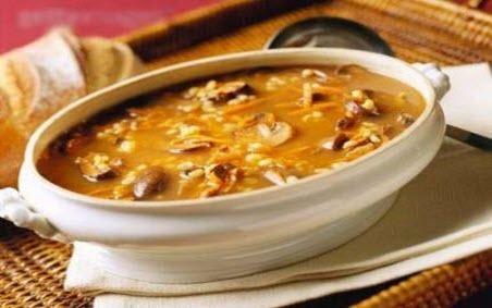 """Бабусині страви: """"Грибний суп"""""""