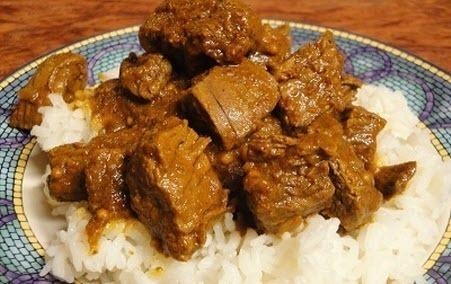 """Бабусині страви: """"М'ясо з рисом"""""""