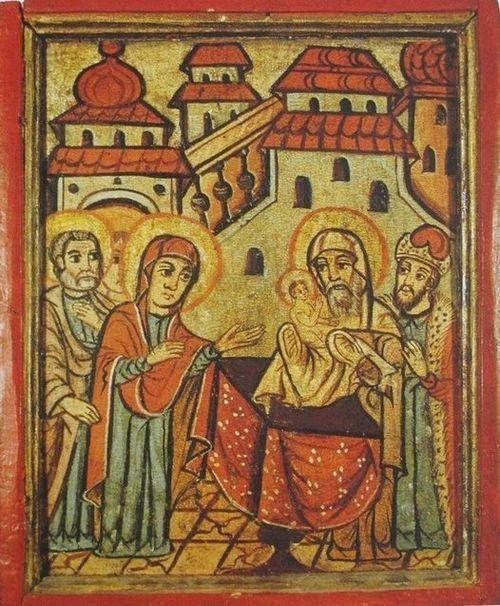 15 лютого Церква святкує свято Стрітення (Зустрічі)