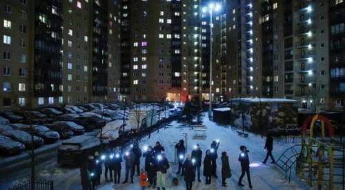 В России прошла акция «Любовь сильнее страха» в поддержку Алексея Навального
