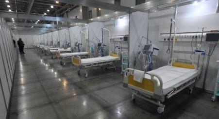 В Ивано-Франковске развернут первый временный госпиталь для лечения больных COVID-19