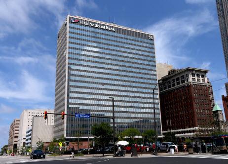 В Кливленде реализовали здание принадлежащее компании Коломойского