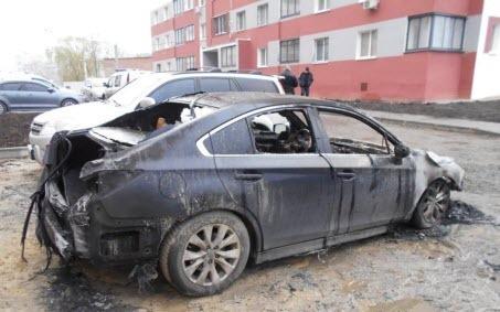 Двум сотрудницам издания «Время Добкина» в Харькове ночью сожгли машины...