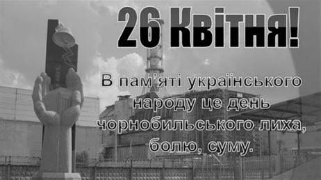 Аварія на Чорнобильській АЕС- трагедія без строку давності. 35 років потому