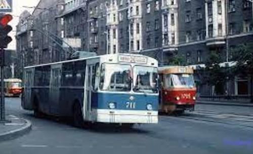 На улицах и в скверах Харькова 1979 года