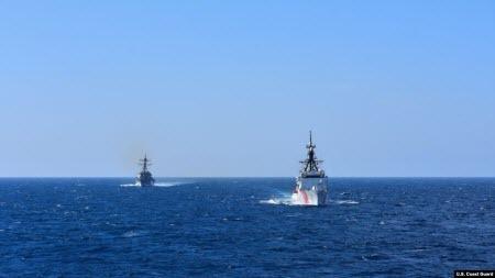 Катер Берегової охорони США прибув до порту Одеси
