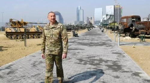 Азербайджан начал большие военные учения на фоне обострения конфликта с Арменией