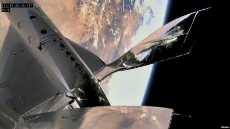 Virgin Galactic успішно здійснила перший пілотований космічний політ