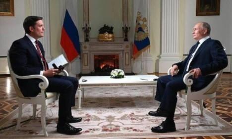 Интервью Владимира Путина американской телекомпании NBC