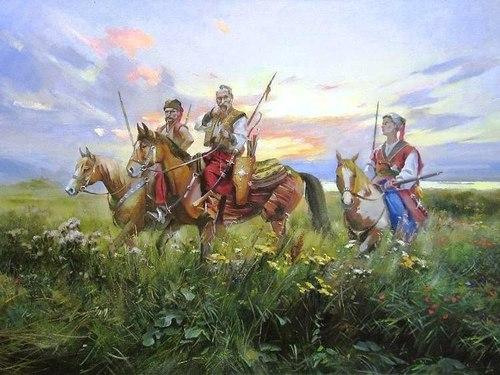 100 Великих постатей і подій козацької України - Українське гетьманство та Османська імперія