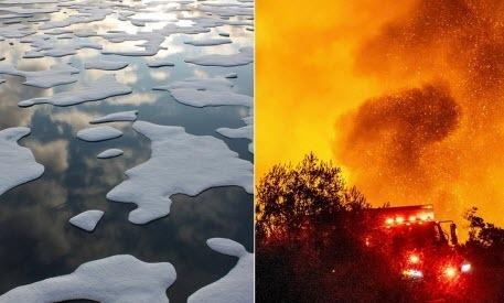 Daily Mail: В климатических изменениях Земля прошла точку невозврата