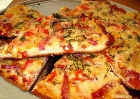 "Бабусині страви: ""Домашня піца"""