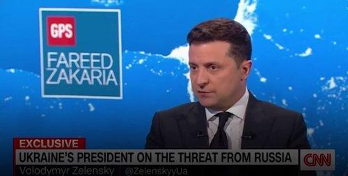 На телеканалі CNN було інтерв'ю Зеленського - Igor Aizenberg
