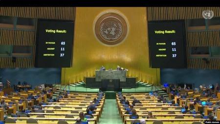 76-та Генасамблея ООН розгляне ситуацію на окупованих територіях України, попри три спроби Росії це оскаржити