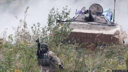 """Український підзрозділ хімічного захисту проходить оцінювання НАТО в рамках навчань """"Репід Трайдент"""""""