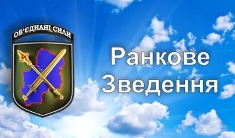 Зведення прес-центру об'єднаних сил станом на 07:00 28 вересня 2021 року
